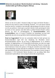 Historien om professor Martin Knudsen´s forskning ... - Nordfynsk.dk