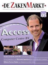 Access Computer Centre BV heeft gezonde ... - De Zakenmarkt