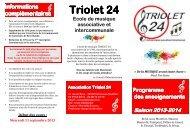 plaquette 2013- 2014 - Treffendel