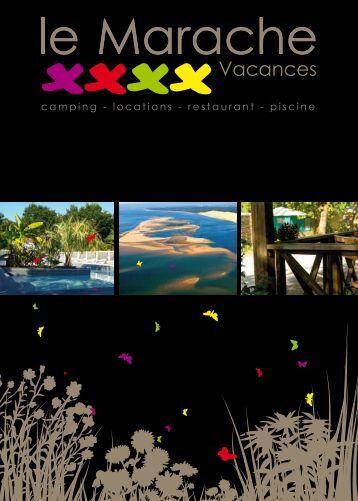 Brochure - CAMPING MARACHE VACANCES