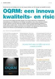 artikel 1 OQRM-model - Gert Jan Schop