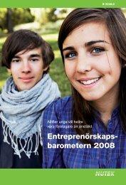 Entreprenörskaps- barometern 2008 - Navigator Syd