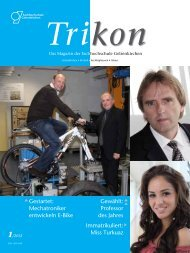 Trikon 1/2012 - TRIKON - Westfälische Hochschule