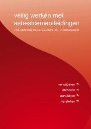 Werkplan - Veilig werken met asbestcementleidingen