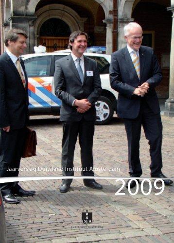 Jaarverslag Duitsland Instituut, 2009 - Duitsland Instituut Amsterdam