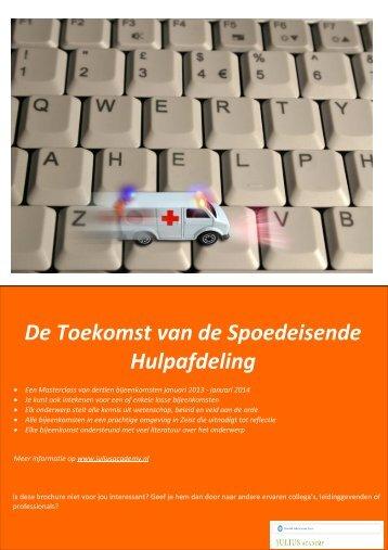Brochure MCSpoedzorg 2013 17augi2012 - Julius Academy