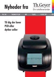 Til dig der laver PCR eller dyrker celler - Th. Geyer GmbH & Co. KG