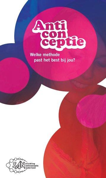 Voorlichtingsfolder anticonceptie - Stichting Anticonceptie Nederland