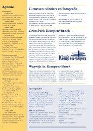 Wegwijs in Kempen~Broek GrensPark Kempen~Broek - Natuurpunt ...