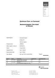 Bijlage 4 Quickscan flora en fauna - Gemeente Sint-Michielsgestel