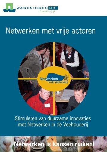 Netwerken met vrije actoren (PDF) - Transitiepraktijk