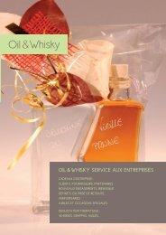 Télécharger notre brochure - Oil & Whisky