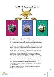 Lgr 11 och Boken om Historia - Liber