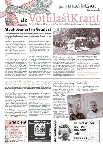 download krant - De Votulastkrant