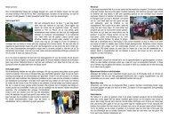 Beste sponsors, Door omstandigheden helaas ... - Habitat pour Haiti