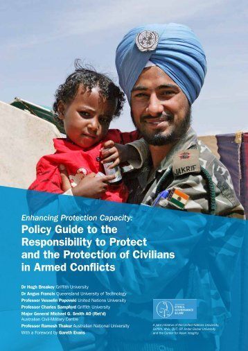 Policy Guide to the Responsibility to Protect and the Protection of ...
