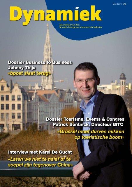 «Brussel moet durven mikken op toeristische boom» «bpost ... - BECI