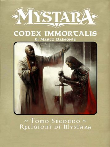 Codex Immortalis - Italiana di Gdr creata da Marco Dalmonte
