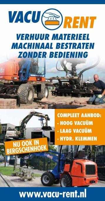 Download hier het verhuuroverzicht van Vacu-Rent - Barend Kemp BV