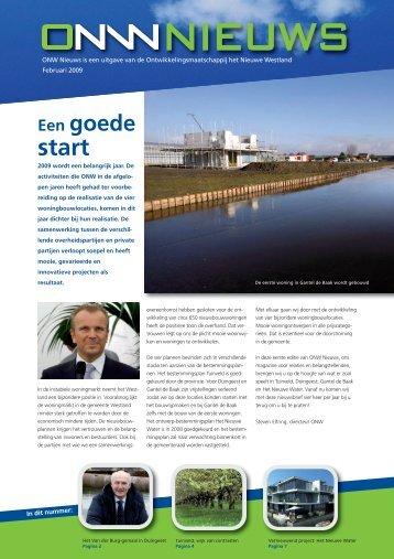 Lees de nieuwsbrief - ONW, Ontwikkelingsmaatschappij Het Nieuwe ...