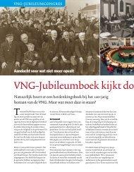 VNG-Jubileumboek kijkt door de ogen van - NSOB