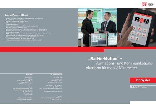 PDF herunterladen - DB Systel GmbH