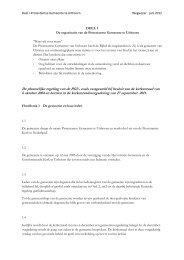 De plaatselijke regeling van de PGU, zoals vastgesteld bij besluit ...