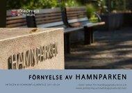 FÖRNYELSE AV HAMNPARKEN - Jönköpings kommun