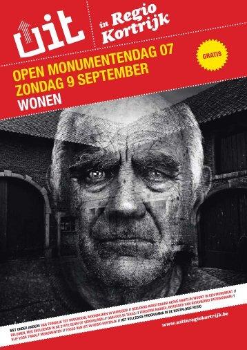 Open Monumentendag brochure 07 - UiT in regio Kortrijk