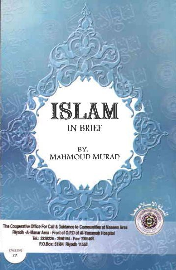 Islam In Brief - PDF - Islam Future → The Future For Islam