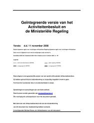 Besluit en regeling integraal - Pmgg