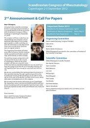 Scandinavian Congress of Rheumatology