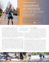 Publicatie Sportlokaal december 2012 - Convenant Gezond Gewicht