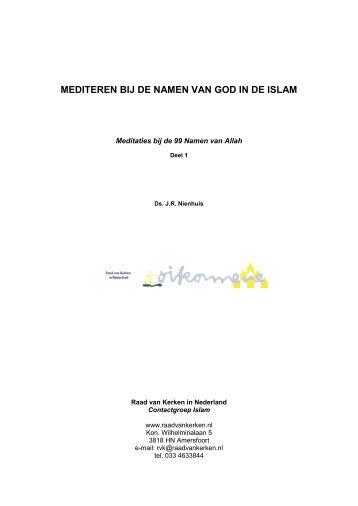 Deel 1 - Protestantse Kerk in Nederland