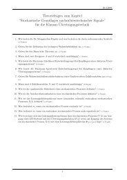 Theoriefragen zum Kapitel - mechatronik-forum