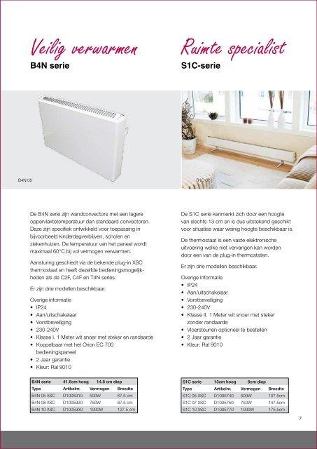 Elektrische verwarming - NOBO
