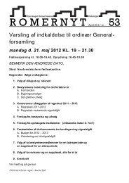 R O M E R N Y T April 2012 / nr. 53 - Romerhusene