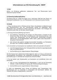 Informationen zur Verordnung (EG) Nr. 338/97 - Bundesverband für ...