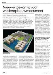 Nieuwe toekomst voor wederopbouwmonument - Architectuur Lokaal