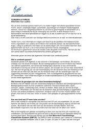 Informatiebrochure van het VU medisch centrum - Bosk