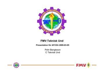 FMVs tekniska underrättelsetjänst