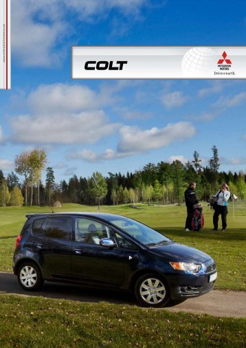 Produktblad Mitsubishi Colt Active