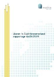 Wonen in Zuid-Kennemerland > rapportage WoON 2009 - Explica
