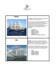 Geschiedenis schepen2 beknopt - Sail Den Helder 2013