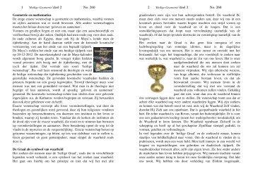 Heilige geometrie deel 2 no. 260 - Pentahof.nl