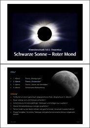 Schwarze Sonne – Roter Mond - Kleinmaeusiges.de