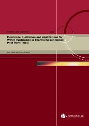 Membrane Distillation and Application for Water Purification - Xzero