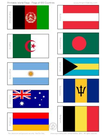 Remarkable image inside flags of the world printable pdf