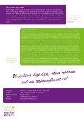 Dag van de Mantelzorg 2011 - Centrum Mantelzorg - Page 4