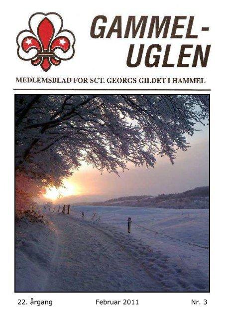 22. årgang Februar 2011 Nr. 3 - Sct Georgs Gildet i Hammel